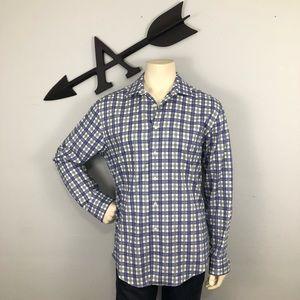 Egara Non-Iron Dress Shirt size Large